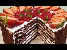 Gustul copilăriei mele,,Tort Medovik cu gust de ciocolata,, făcut pe tigaie - YouTube Sweet Treats, Desserts, Youtube, Food, Wine, Easy Recipes, Sugar, Tailgate Desserts, Sweets