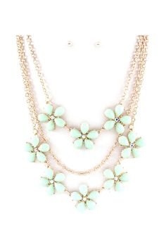 Lani Necklace in Aspen Mint