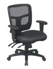 Office Star ProGrid Back Managers Chair with 2Way Adjustable Arms and Dual Function Control and Seat Slider *** Want additional info? Click on the image.