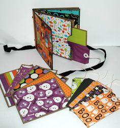 halloween paper bag book