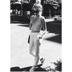 stylish w/ joggers