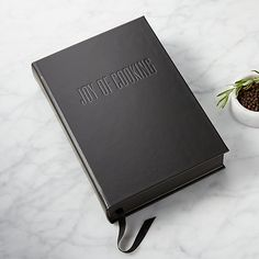 Black Leather Joy Of Cooking Book |