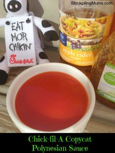 Copycat Chick-fil-A Polynesian Sauce 1 cup California French Dressing 3 teaspoons apple cider vinegar 6 tablespoons honey