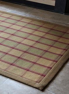 Anta Edzell Large Rug With Edinburgh Binding I Covert This Really