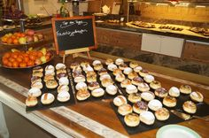 Faschingskrapfen - #yummy @stockresort . zillertal . tirol Buffet, Restaurant, Table Settings, Dinner, Gourmet, Dining, Buffets, Table Top Decorations, Dinners
