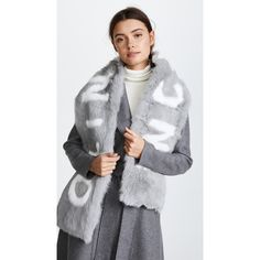 Genie by Eugenia Kim Lane Light Grey Knit Scarf - Grey Eugenia Kim DTGgAcI7E