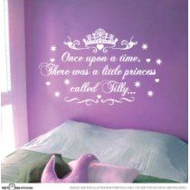 Little Princess Nursery and Girls' room #decals