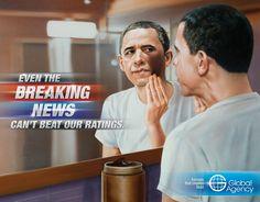 Global Agency: Breaking News, Obama LMAO!!! Obama's really WHITEEEeeeeeee!