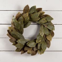 Signature Magnolia Wreath – The Magnolia Market