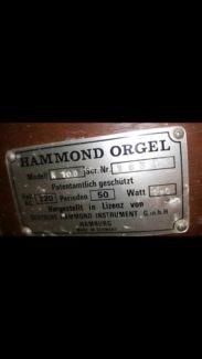 Orgel von hammond Modell k 100 in Rheinland-Pfalz - Alsbach   Musikinstrumente und Zubehör gebraucht kaufen   eBay Kleinanzeigen
