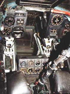 ME410 cockpit