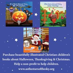 Books to help kids understand the Christian meanings behind the holidays of Halloween, Thanksgiving, and Christmas Christian Children's Books, Best Books Of All Time, Homeschool Books, Homeschooling Resources, Free Kids Books, Book Letters, Music Activities, Home Schooling, Bible Lessons