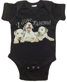 85eb6461 I Just Farted Funny Humor Black or Grey Toddler Baby Onesie Sizes 6 24 Mths