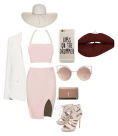"""My fantasy"" by novuyothandolwenkosi on Polyvore featuring Witchery, Yves Saint Laurent, Carvela, MANGO and Nine West"