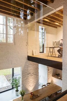 from coach house to house - interior .-vom Kutscherhaus zum Haus – Interieur – # from the coach house to the house – interior – # - Loft Interior Design, Loft Design, Interior Architecture, Interior And Exterior, House Design, Cultural Architecture, Interior Modern, Minimalist Interior, Home Fashion