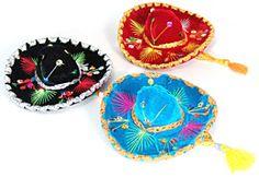 Mini Velvet Mariachi Sombrero - Decorations - Amols' Fiesta Party Supplies
