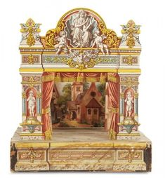 Curtain Call- The Collection of Billie Nelson: 270 Charming Petite Theatre Attributed to Hermann Kurtz