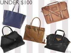 Fall Fashion Bags! Under $100