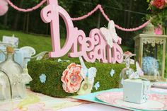 Hostess with the Mostess® - Fairy Ballerina Garden Party BEAUTIFUL GIRLY IDEAS