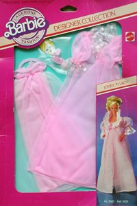 1982 Designer Collection Lovely N Lacy 1980s Barbie, Mattel Barbie, Barbie And Ken, Barbie Style, Barbie Dream, Vintage Barbie Clothes, Vintage Dolls, Doll Clothes, Barbie Bath