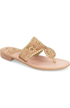 Jack Rogers Whipstitched Flip Flop (Women) available at #Nordstrom