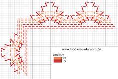 gráficos para ponto-cruz, desenhos e esquemas para pintura