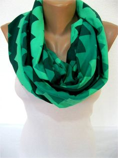 ON SALE Winter Scarf Infinity Scarf Shawl Circle by SmyrnaShop, $12.90