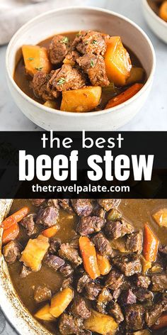 You'll love this easy Guinness Beef Stew. It's loaded with hearty, beefy flavor and earthy root vegetables like carrots and potatoes. This version cooks up on the stovetop, but can easily be converted to cook in a crockpot or slow cooker.