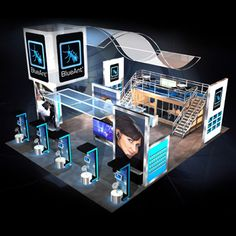 Bluant | Custom  Exhibits | Tradeshow Booth.Brought to you by Shopletpromos.com-promotional products for your business.