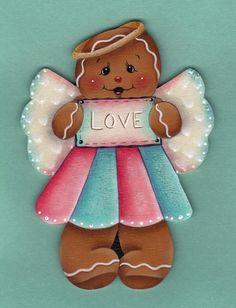 Gingerbread Love Angel E-Pattern