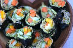 Recept: raw-vegan sushi