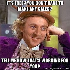 If someone tells you their business opportunity is FREE and NO SELLING - NO RECRUITING - RUN!!!!!! www.pressbutton.org
