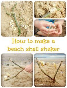#DIY - How To Make A #Beach Shell Shaker