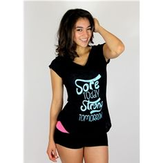 Sore Today Arm Candy Tee (2 colors)