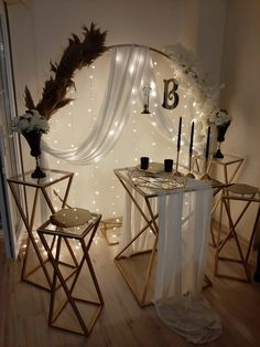 Fake Photo, Event Decor, Wedding Decorations, Projects To Try, Mirror, Chair, Furniture, Ss, Ballet
