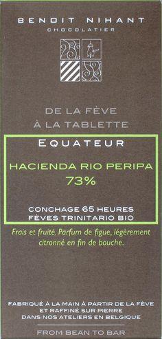Benoît Nihant Equateur Hacienda Rio Peripa, 73%