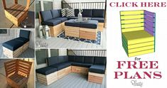 DIY Modular Seating – (free plan)