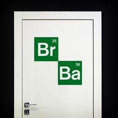 Adesivi Murali: Logo Breaking Bad #tv #decorazione #deco #StickersMurali