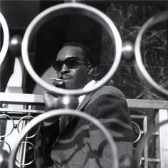 """FRANCIS WOLFF, 1963 Hank Mobley, cover shoot for """"No Room For Squares"""" October 1963."""