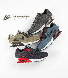 Nike Air Max 90 Lunar Suits & Ties Pack