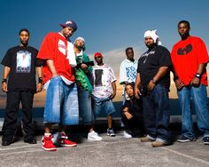 Wu-Tang Clan (Method Man, Ghostface Killah, Raekwon, RZA, GZA, Ol' Dirty Bastard, U God, Inspectah Deck, and Masta Killa). You can make an argument that 4-5 members of this group are in the top 50 rappers of all-time individually. But, together they are better. For this reason, I chose to pin Wu-Tang Clan as a group rather than the individual artists who are, IMO, in the top 50 all-time are (in order of my preference): Method Man, Ghostface Killah, Raekwon, and GZA.