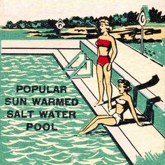 Sun Warmed - Detail from a vintage match pack.
