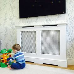 Here at Radiator Cabinets UK Ltd, you will find refined radiator cover and cabinet designs, both traditional and modern. Traditional Radiators, Radiator Cover, Paint Finishes, Cabinet Design, Bespoke, Luxury Homes, Hardwood, Home Appliances, Colours