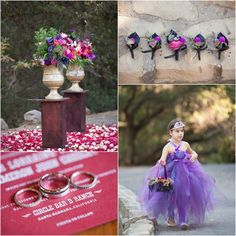 Purple Wedding Ideas - Rich Wedding Colors