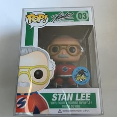 Funko pop super hero Stan Lee exclusive Item is an comikaze exclusive. Item is brand new, never opened, and comes with a plastic protector. Feel free to check my pictures before purchasing. I also sell other exclusive pops so feel free to check them out. Accessories