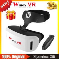 2017 Winex VR Google cardboard VR BOX 2 3 XiaoZhai bobo vr z4 Virtual Reality 3D Glasses VR Shinecon Headset + Bluetooth Control #Affiliate