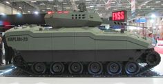 FNSS Kaplan next-generation armored combat vehicle apc ifv