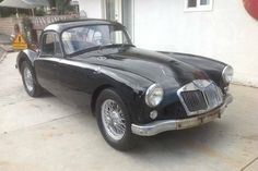 Affordable Cult Classic: 1960 MGA Coupe - http://barnfinds.com/affordable-cult-classic-1960-mga-coupe/