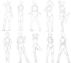 Drawing The Human Figure Tips for Beginners Body Reference Drawing, Drawing Body Poses, Anime Poses Reference, Anime Drawings Sketches, Body Sketches, Manga Drawing Tutorials, Body Drawing Tutorial, Drawing Techniques, Drawing Ideas