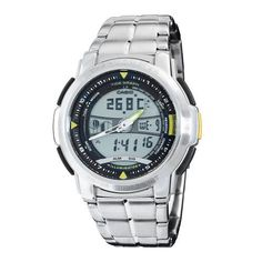 Casio Men's AQF100WD-9BV Forester Sports Thermometer Watch Casio. $38.73. Save 40%!